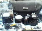 Nikon D D3300 24.2 MP Digital SLR Camera - Black (Kit with 18-55mm and 55-200mm)